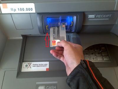Masukkan Kartu Debit BNI