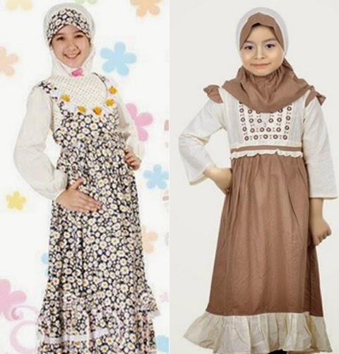 model baju muslim anak perempuan 2015