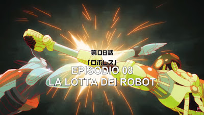 Atom: The Beginning Episodio 8