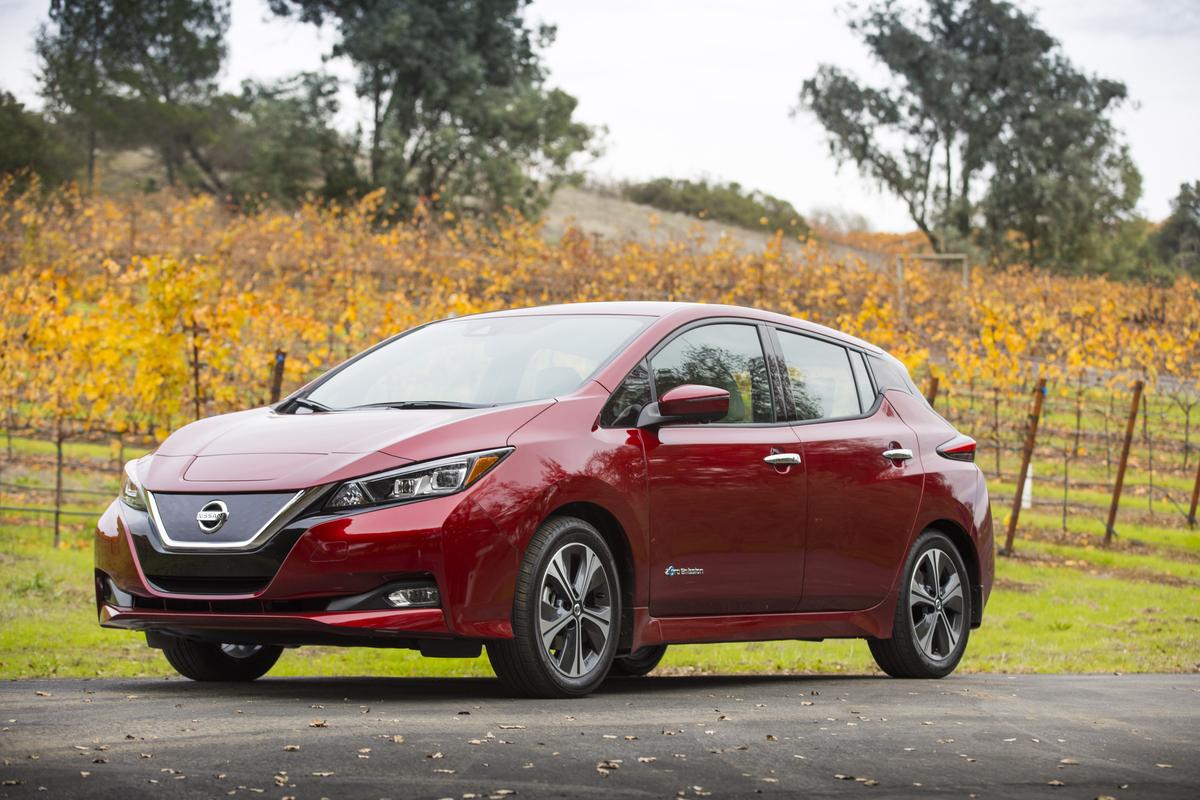 El Nissan LEAF 2018 gana el premio J.D. Power Engineering Award con la calificación más alta en rediseño de vehículos