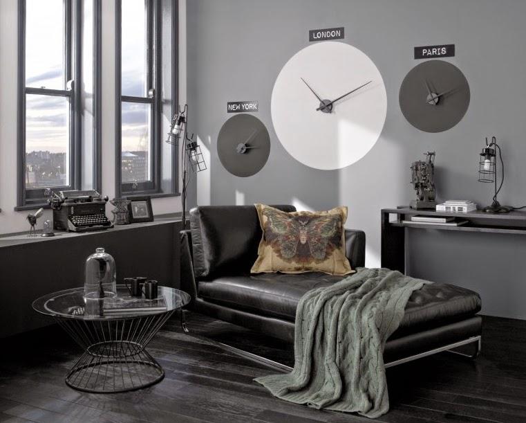 ideas de decoración para salas en gris
