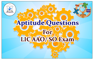 Aptitude Questions (Data Interpretation) for Upcoming AAO/SO Exams Set-21