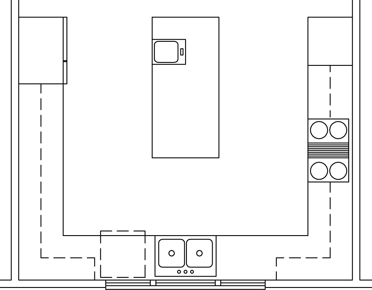 Kitchen Design Layout Images L Shaped Kitchen Layout With Island Wallpaper Side Blog
