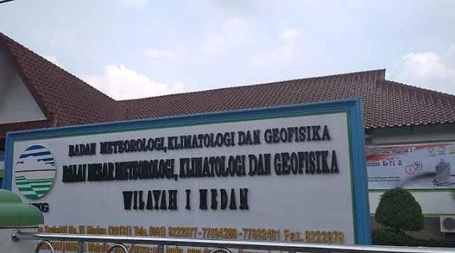 BMKG Medan Imbau Warga di Pegunungan Waspadai Longsor
