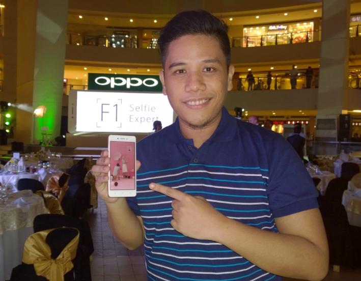 OPPO F1 Philippines, Mark Milan Macanas