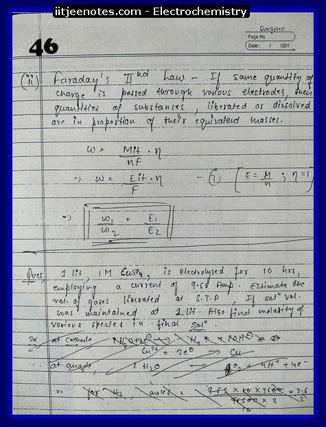 Electrochemistry chemistry1
