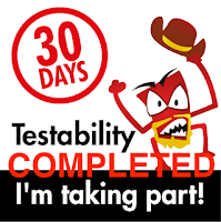 30 Days of Testability: COMPLETED