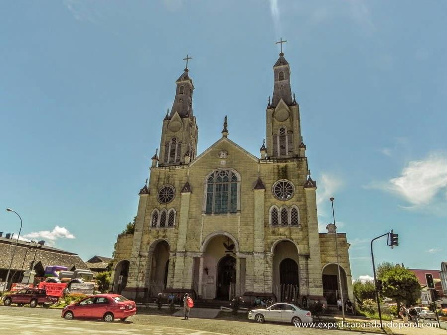 Igreja San Francisco em Castro, Ilha de Chiloé