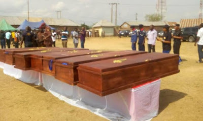 Tears As 28 Benue Indigenes Killed By Herdsmen Are Buried