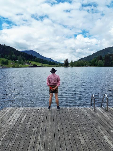Bjorn Troch, The Social Traveler at Schwarzsee in Kitzbühel