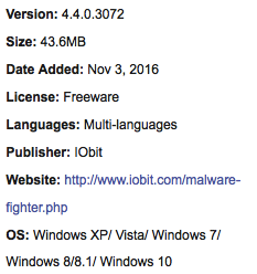 IObit Malware Fighter 4.4.0.3072 Latest Version Download
