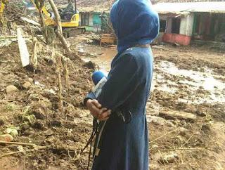 wartawan metro tv, media berbohong, fpi, ahok, banjir bandang garut, garut 2016, kondisi garut setelah dilanda banjir, banjir, meme fpi, takut di pecat.