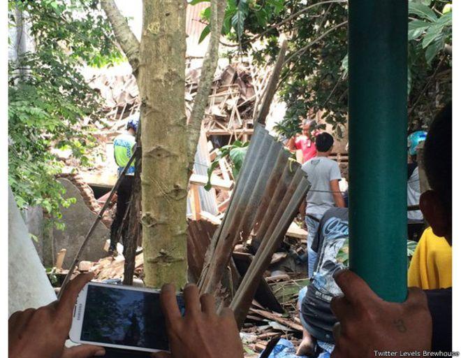 pesawat latih TNI jatuh di Malang