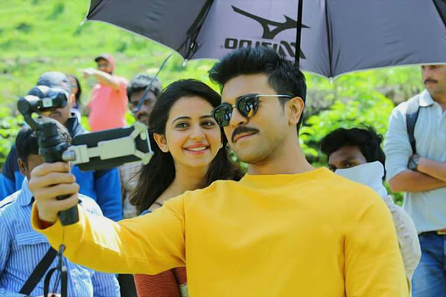 Ram Charan, Rakul Preet Singh Dhruva Latest Working Stills