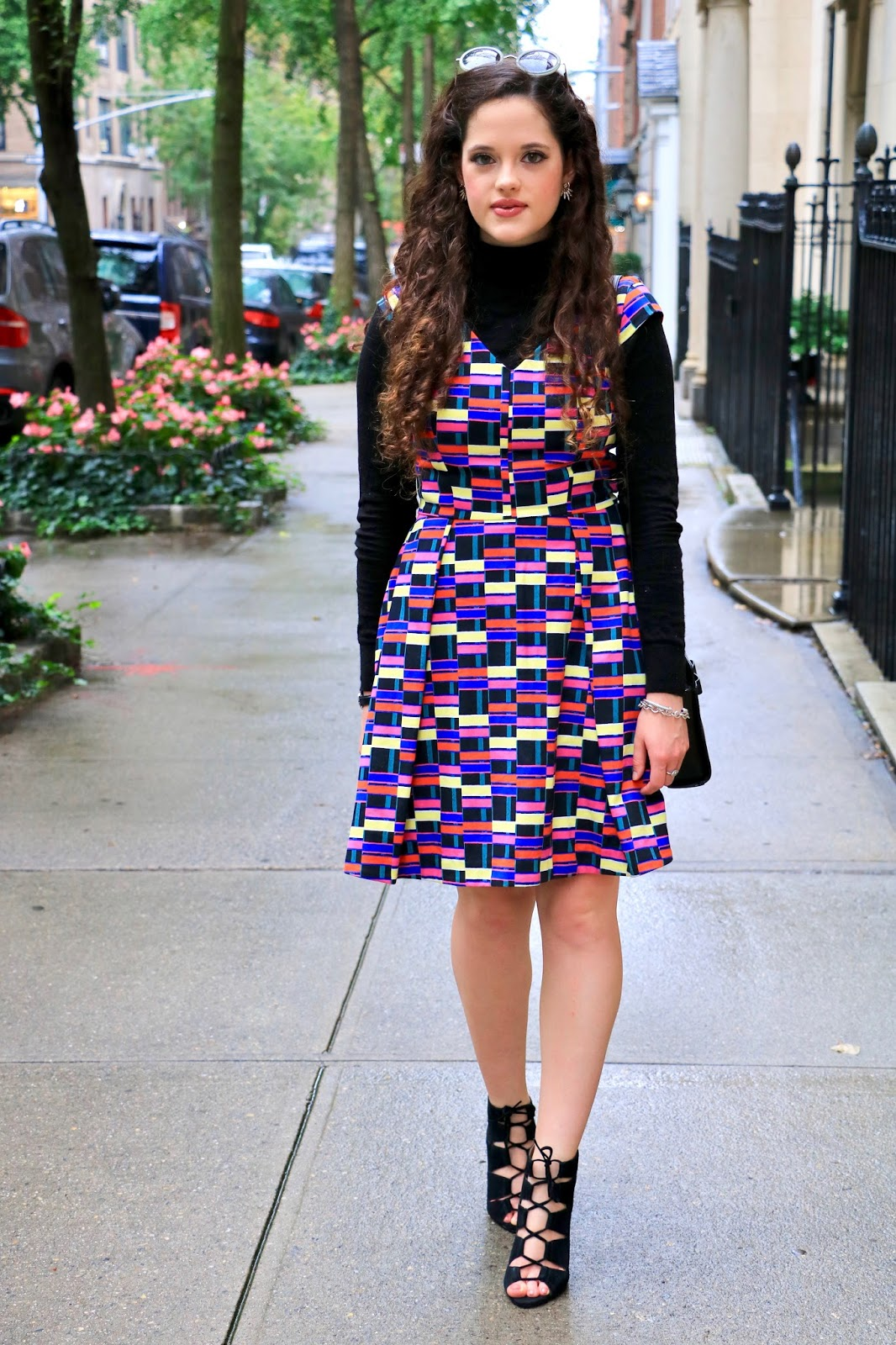 Kate Spade Saturday multi colored dress