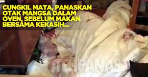 Thumbnail image for Cungkil Mata Mangsa & Masak Dalam Kuali Sebelum Makan Bersama Kekasih