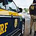 PRF aborda carreta que era conduzido por criança de apenas 9 anos