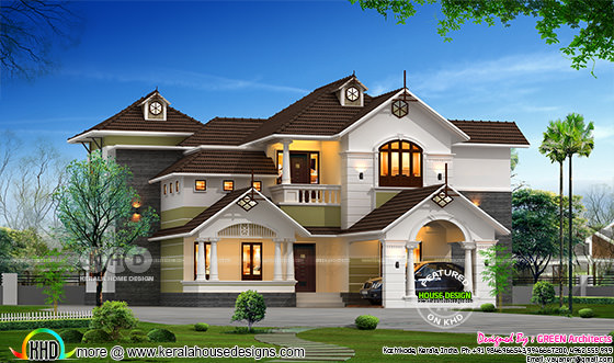 Awesome 4 bedroom home plan
