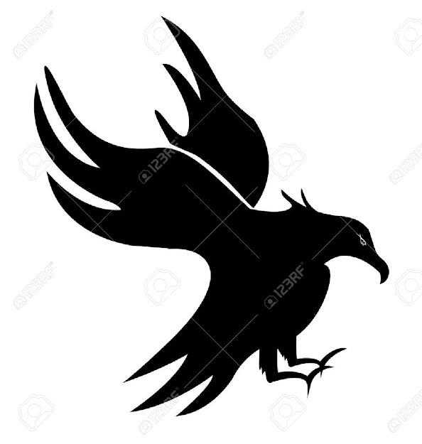 Eagle Bird Vector Stock Vector