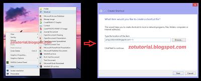 Membuat Shortcut Ping Jaringan Internet dan Fungsinya
