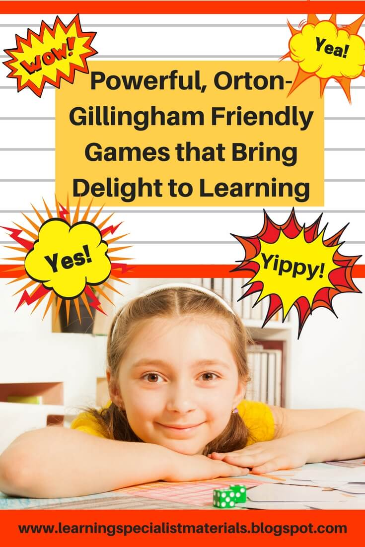 Powerful, Orton-Gillingham Friendly Games that Bring Delight to ...