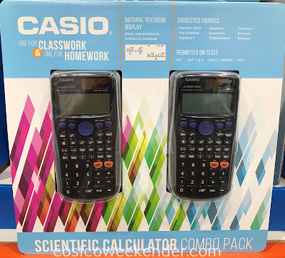 Easily Get some homework done with the Casio Scientific Calculator fx-300ES PLUS