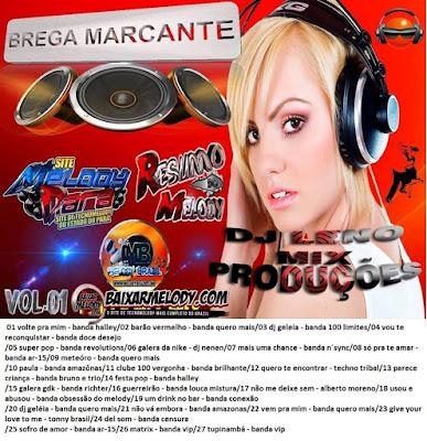 CD BREGA MARCANTES VOL.01 DJ LENO MIX PRODUÇÕES 26/04/2016