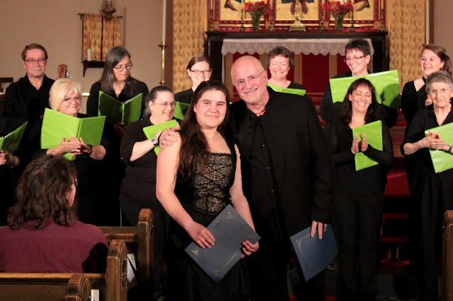 Stairwell Carollers 2017 $1000 Scholarship - Ursa Meyer - Violin