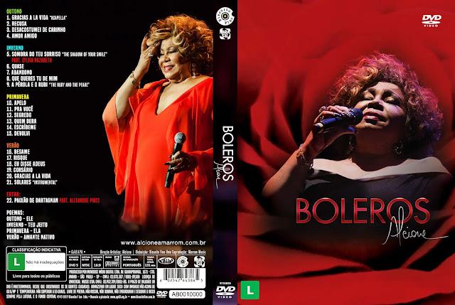 Capa DVD Alcione Boleros
