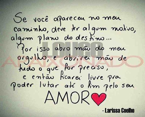 Mensagens De Amor Romanticas: Facebook Imagens: Mensagens Românticas Para Por No Face