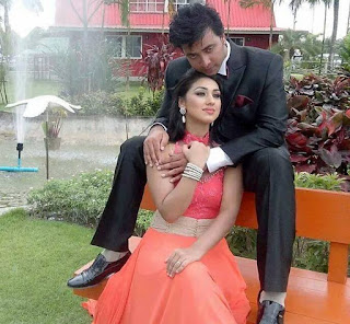 Shakib Khan and Apu Biswas Sweet