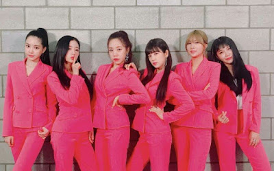 Apink's self-styled pink suits