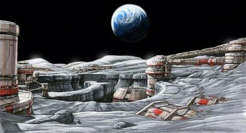 На Місяці може з'явитися екіпажна база