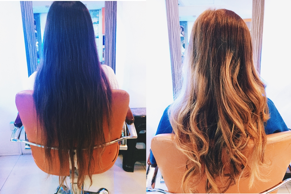 Hair Transformation Going Balayage Maria Hazel