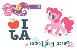My Little Pony Tattoo Card 2 Series 2 Trading Card