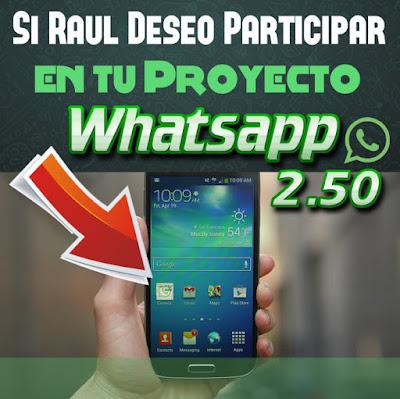 Gana Dinero con Whatsapp 2.50