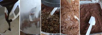 Zubereitung Amerikanische Walnuss Brownies