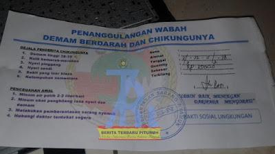 Warga Pituruh, Ditawarkan Produk Pembasmi Nyamuk, Namun Tidak Jelas dan Mengatasnamakan Koperasi Indonesia