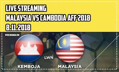 Malaysia vs Cambodia AFF 2018