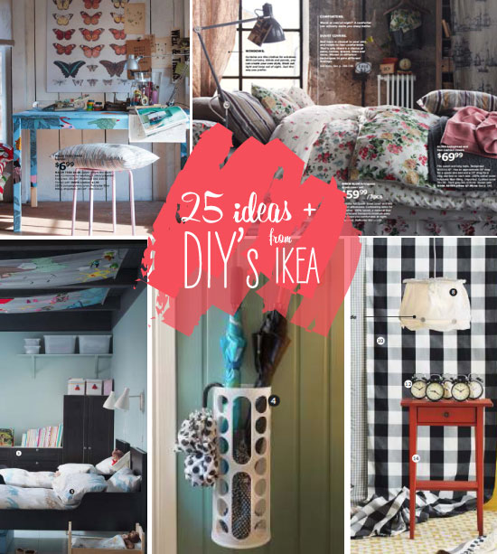 25 ideas must haves diy s from the new 2013 ikea catalog poppytalk. Black Bedroom Furniture Sets. Home Design Ideas