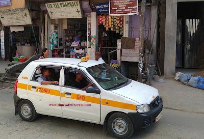Taxi Service Aizawl