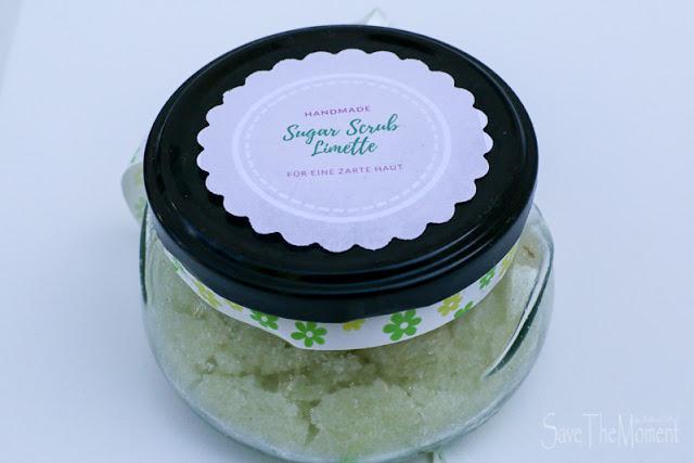 DIY Limette Sugar Scrub für zarte Haut (Zucker-Peeling)
