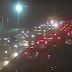 Trânsito complicado nos dois sentidos da avenida Felizardo Moura