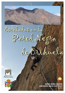 Escaladas en la Pared Negra de Orihuela