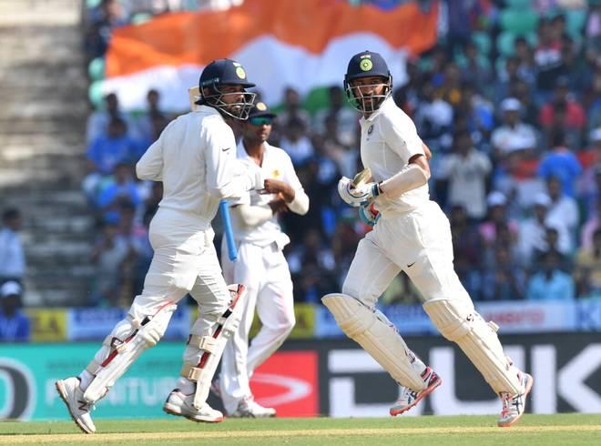 India vs Sri Lanka second Test, Nagpur: Kohli completes century, Pujara falls for 143
