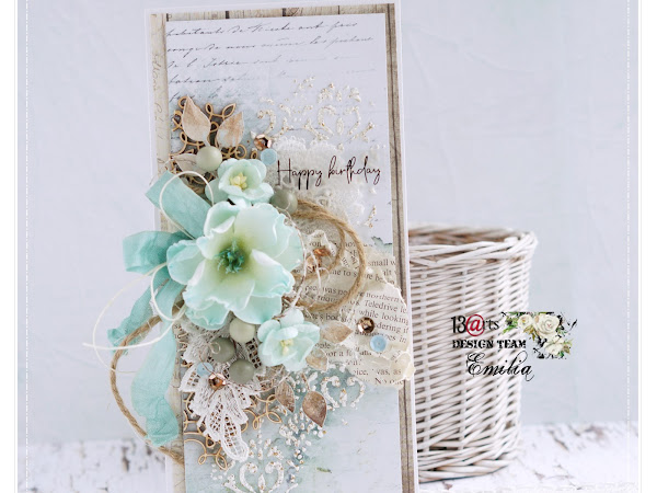 Vintage Style Birthday Card Video Tutorial / Kartka Urodzinowa & Kurs