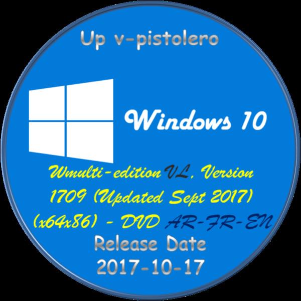 D-NariF: Windows 10 (multi-edition) VL, Version 1709