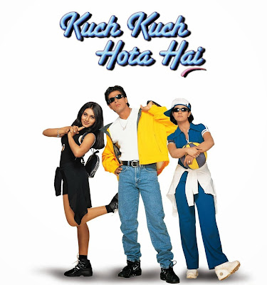 Poster Of Bollywood Movie Kuch Kuch Hota Hai (1998) 300MB Compressed Small Size Pc Movie Free Download worldfree4u.com