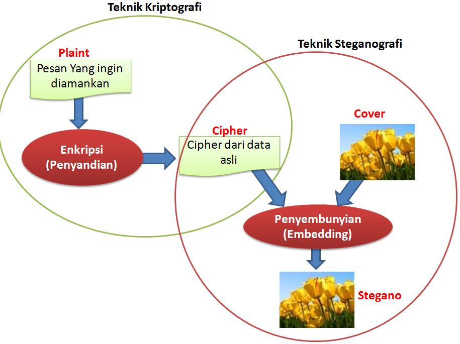 Taroni Zebua Bagaiman Mengkombinasikan Teknik Kriptografi Dan