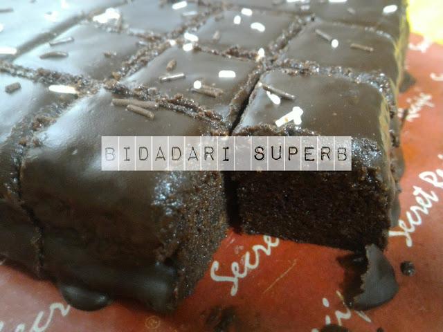 Resepi Kek Coklat Moist Kukus Best
